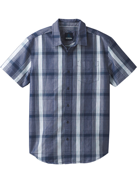 Prana Tamrack SS Shirt Men Equinox Blue